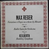 Reger - Variations & Fugue On A Theme By Mozart, KEILBERTH, Telefunken, MONO