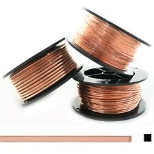99.9% Pure Copper wire Dead soft Square 10 12 14 16 18 19 20 21 22 24 Gauge USA