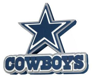 NFL DALLAS COWBOYS 3D LOGO MAN CAVE WALL FOAM SIGN GAME DAY DECORE
