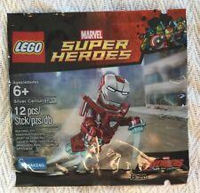 LEGO SILVER CENTURION MINIFIGURE 5002946 MARVEL SUPERHEROES POLYBAG NEW SEALED