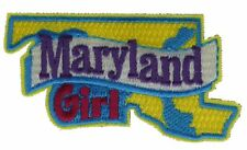 Maryland Girl State Embroidered Patch F2D17F