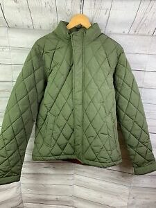Scotch and Soda Green Quilted Jacket