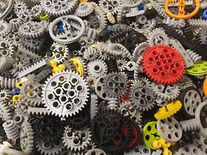 50x Lego® Technic Technik Zahnräder Zahnrad Schwungräder Riehmenscheiben