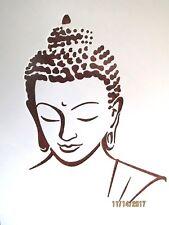 Buddha Stencil/Template Reusable 10 mil Mylar