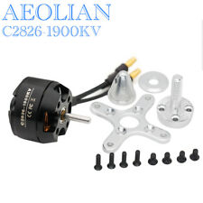 RC aircraft airplane Aeolian C2826 1900KV outrunner brushless electric motor