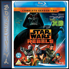 STAR WARS REBELS - COMPLETE SEASON 2  **BRAND NEW BLURAY**