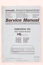 Orion vh-2500rc vh-300rc/630rc/730rc/888rc/4010rc service-manual/schéma de branchement o104