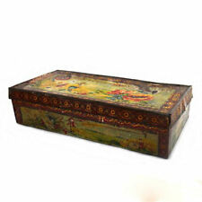 antique Imperial Russia Candy Confectionery «М.Конради» St.-Petersburg Tin Box