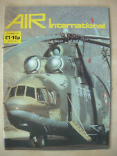 AIR INTERNATIONAL MAGAZINE DECEMBER 1987 MIL MI-26 INDIAN AIR FORCE HELICOPTER