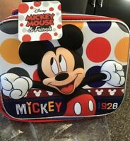 90th Anniversary Mickey Mouse Insulated Lunch Bag