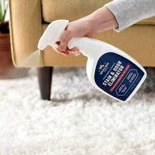 Pet Dog Odor Eliminator And Stain Remover Spray 32 Oz For Furniture And Clothes