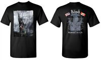 KALMAH cd lgo NORTH AMERICAN TOUR Heroes to the US Official SHIRT LRG New