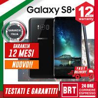 NUOVO! SMARTPHONE SAMSUNG GALAXY S8+ PLUS 64GB SM-G955 12 MESI GAR.ITALIA G955F!
