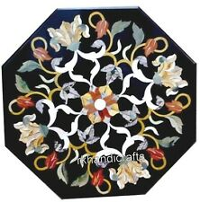 Coffee Table Top with Royal Look Marble Sofa Table Pietra Dura Art for Home