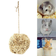 Corn Husk Leaf Pet Ball Nature Chew Toy for Small Animals Hamsters Rabbit Parrot
