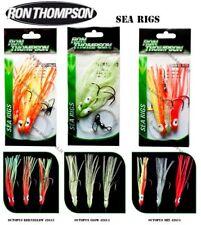 Ron Thompson Octopus Sea Rigs 10cm 0.60mm set ( 9 packs), Best for cod, herring