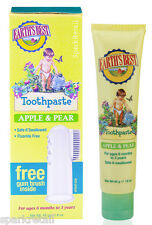 Jason Earth's Best APPLE & PEAR Fluoride Free TOOTHPASTE For Babies 45g