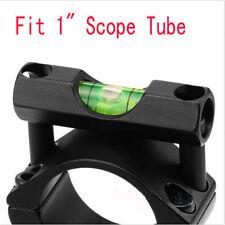 Hunting Gun Scope Mounts Lescope Bubble Level For 25.4mm Tube Rifle Scope Ring