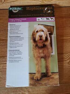 PetSafe Replacement Flap ~ Freedom Aluminum , Plastic & Extreme Pet Doors Large