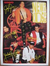 NEW KIDS ON THE BLOCK ** --- BRAVO - Autogrammkarte 291 K