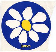 JAMES 1988 U.S. promo STICKER • Strip Mine ... 4 inches diameter