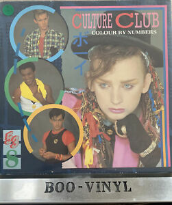 """CULTURE CLUB """"COLOUR BY NUMBERS """" LP (1983)VIRGIN RECORDS V2285 EX / VG"""