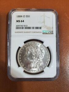 1884 O S$1 NGC MS 64