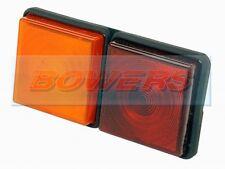 RUBBOLITE M312 combinazione posteriore 2 Pod Lampada Luce Ifor Williams Rimorchio Horsebox