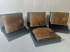 Personalised Leather RFID Protected wallet, , Groomsman, bestman, usher, wedding