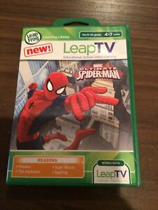 Leap Frog Leap TV Marvel Ultimate Spiderman Educational Video Game T