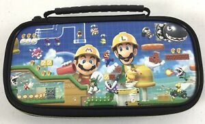 Nintendo Switch Lite Game Mario Deluxe Travel Case Adjustable Viewing Stand