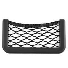 Multifunctional Auto Car Storage Mesh Net String Bag Phone Holder Ticket Pocket