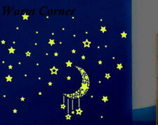 Fluorescent Glow In The Dark Stars Wall Stickers