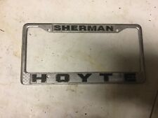 Vintage Collectible Plate Frame Sherman Hoyte