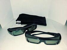 Sony Tdg-br100 3d Glasses X 2