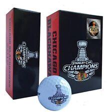 Chicago Blackhawks Bridgestone e6, 6-Pack Golf Balls, 2015 Stanley Cup Champions