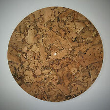 Mojave Cork Turntable Mat - Audiophile Mat for Vinyl Record LP's - Pure Cork
