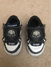336c640d367a Skechers Boys White Baby   Toddler Shoes