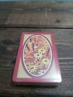 Trump Playing Cards Vintage New Sealed 70s Wild Flowers Cattails Made in USA C8