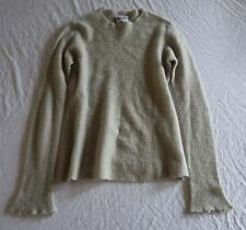 ~ LAINEY PUTTY GRAY CASHMERE PULLOVER SWEATER  (OBSESSED WITH THIS!) ~ S
