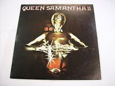 QUEEN SAMANTHA - QUEEN SAMANTHA II - LP VINYL EXCELLENT CONDITION 1978 ITALY