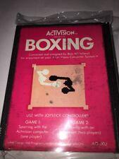 Boxing AG-002 (1980) Activision - Atari 2600 - Video Game Cartridge