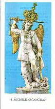 530 S. Michele Arcangelo Santino holycard  5,5x11