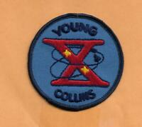 "WILLABEE & WARD OFFICIAL SPACE PATCH GEMINI 10 YOUNG COLLINS  3"" PATCH"