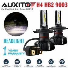 AUXITO H4 9003 FANLESS LED Headlight Kit Hi/Low Beam Bulbs 9000LM For Honda EOA