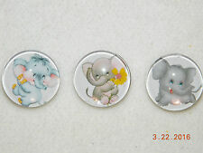 buttons for Leather Snap bracelets/18-19Mm adorable Snap button Elephant snap