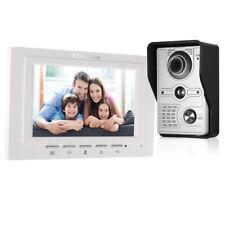 OWSOO Monitor per videocitofono cablato da 7 pollici cablato al coperto visivo