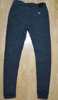 Armani AJ Jeans Denim Orchid Light Weight Stretchy Womens Zip Fly Size W30 L28