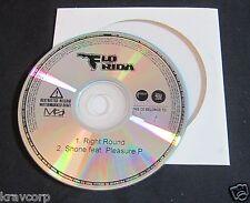 FLO RIDA 'RIGHT ROUND' 2009 PROMO CD SINGLE--KESHA