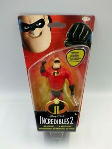 Figurine Disney Pixar Figure Incredibles 2 New Mr Indestructible 3 7/8in Jakks